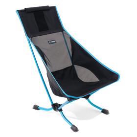 Helinox Beach Krzesło turystyczne czarny/turkusowy